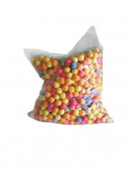 1000 bolas para cerbatanas multicolor