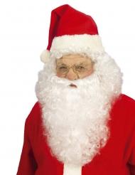 Peluca con barba Papa Noel adulto