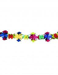 Guirnalda de papel flores 4 metros