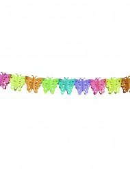 Guirnalda de papel mariposa 4 metros