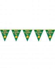 Guirlanda con banderitas Dia de San Patricio
