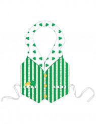 Delantal de duende verde