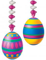Decoración colgante huevos de Pascua