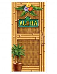 Decoración para puerta Hawái