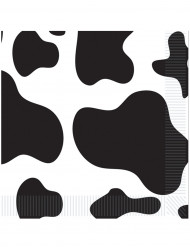 Servilletas piel de vaca 33 x 33 cm