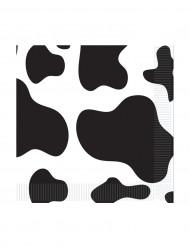 Servilletas piel de vaca 25 x 25 cm
