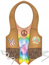 Delantal de plástico hombre hippie