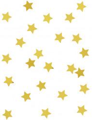 Confetis estrellas metalizadas oro