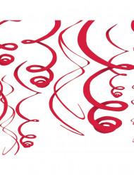 Decoración para colgar rojo