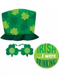 Set verde San Patrick