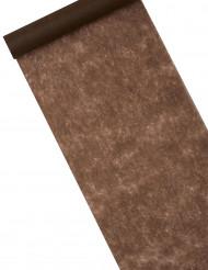 Camino de mesa chocolate 10 m