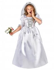 Disfraz de noviapara niña