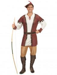 Disfraz de hombre de los bosques medieval