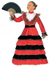 Disfraz de española para niña