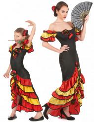 Disfraz de pareja Flamenca madre e hija