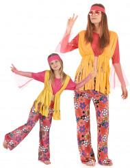 Disfraz de pareja Hippies