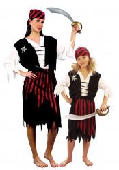 Disfraz de pareja Piratas