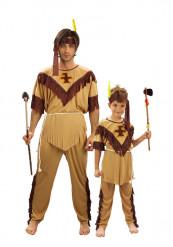 Disfraz de pareja Indios