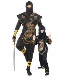 Disfraz de pareja Ninja