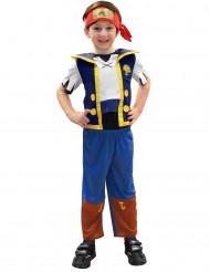 Disfraz de Jake el pirata para niño