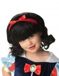 Peluca Blancanieves™ para niña