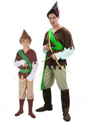 Disfraz de pareja Hombre de los bosques