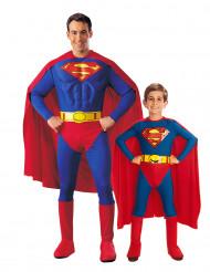 Disfraz pareja Superman™ padre e hijo