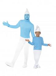 Disfraz de pareja Pitufo™ padre e hijo