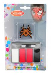 Set de maquillaje araña niño