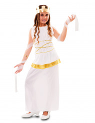 Disfraz de diosa griega para niña