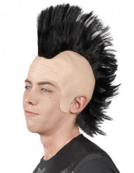 Peluca cresta punk