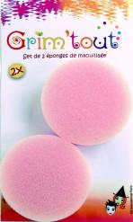 2 Esponjas de maquillaje espesor 1.5 cm