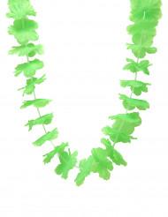 Collar hawái verde