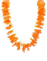 Collar Hawái naranja