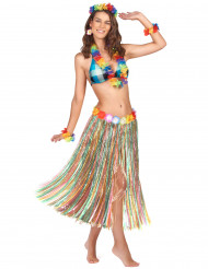 Falda multicolor Hawái