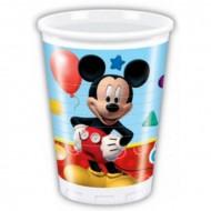 8 Vasos de plástico Mickey Mouse™