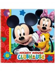 20 servilletas papel Mickey Mouse™ 33x33