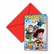 6 Tarjetas de invitación cartón Toy Story™