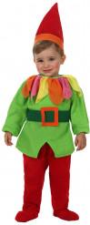 Disfraz de elfo duende bebé