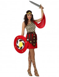 Disfraz de gladiadora para mujer