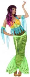 Disfraz de sirena mujer