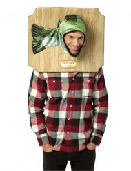 Disfraz de trofeo pez