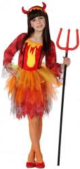 Disfraz reina de diabluras niña