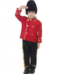 Disfraz de guardia inglés para niño