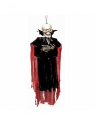 Decoración para colgar esqueleto vampiro