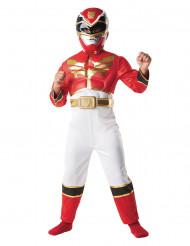 Disfraz de Power Rangers™  3D rojo infantil