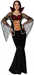 Disfraz de condesa vampira mujer