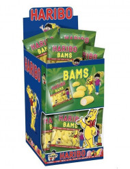 Mini bolsa gominolas Haribo banana