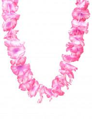 Collar Hawái rosa