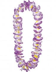 Collar hawaiano violeta